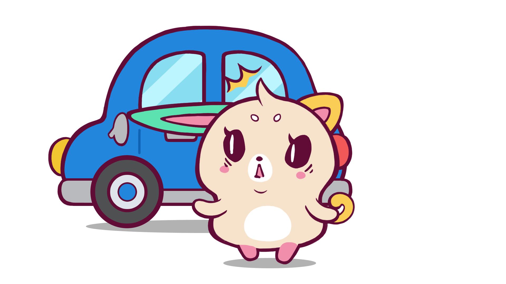 【欲望の塊ミエコ】え?耳が車に挟まって・・・!